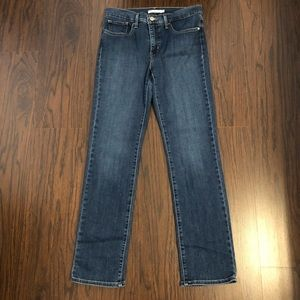 Levis 314 jeans shaping straight leg size 30